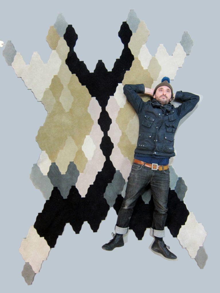 Mosaico de lana